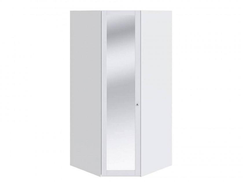 распашной шкаф Шкаф угловой с 1-й дверью с зеркалом Ривьера Ривьера