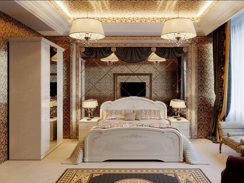 Спальные гарнитуры Классика белый