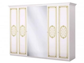 Распашной шкаф Лара в цвете Бежевый