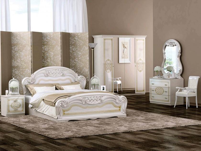 Спальные гарнитуры бежевые bello 7757 b