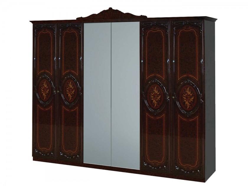 Шкафы распашные 6-дверные распашные шкафы 3 дверные