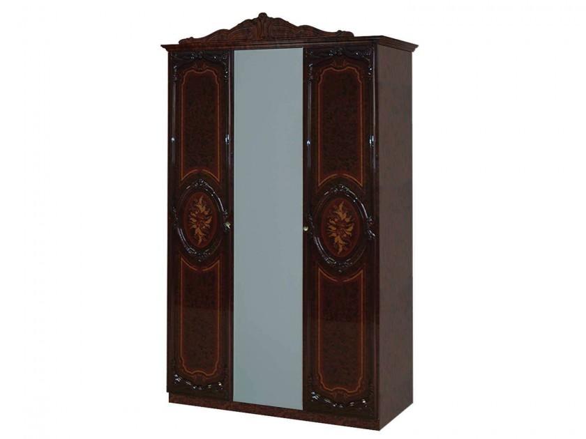 Шкафы распашные шкафы трехстворчатые с зеркалом