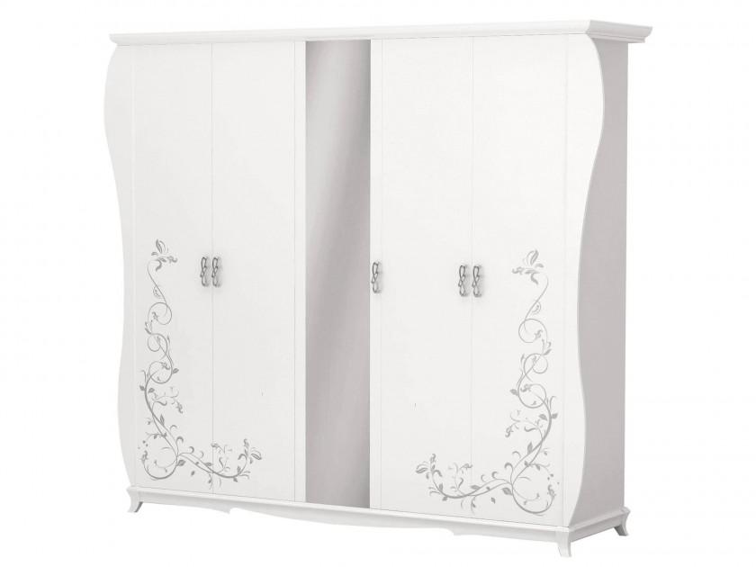 цена распашной шкаф Шкаф 5-ти дверный Стелла Стелла онлайн в 2017 году
