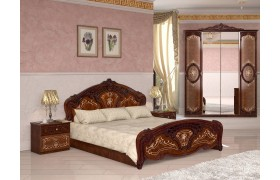 Спальный гарнитур Роза в цвете Радика орех