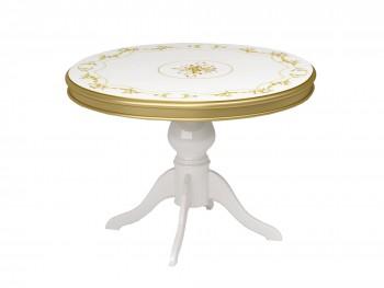 Обеденный стол Роза в цвете Золото