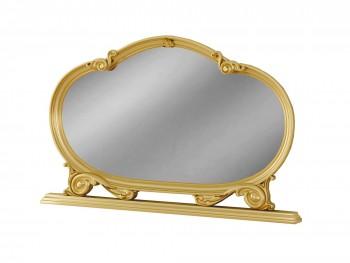 Зеркало Роза в цвете Золото