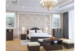 Спальный гарнитур Соня Премиум в цвете Патина Венге