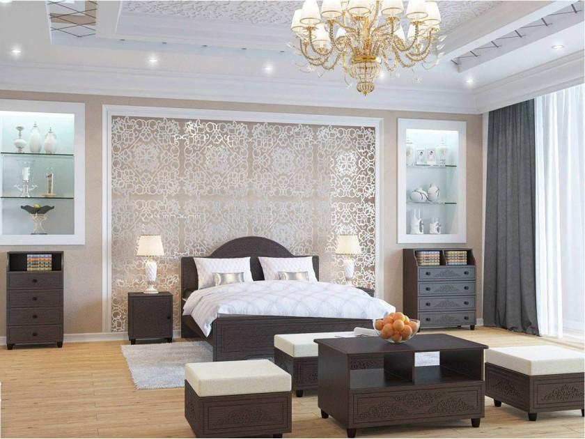 спальный гарнитур Спальня Соня Премиум Соня Премиум в цвете Патина Венге