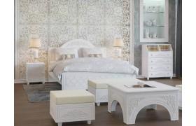 Спальный гарнитур Соня Премиум в цвете Патина Ясень