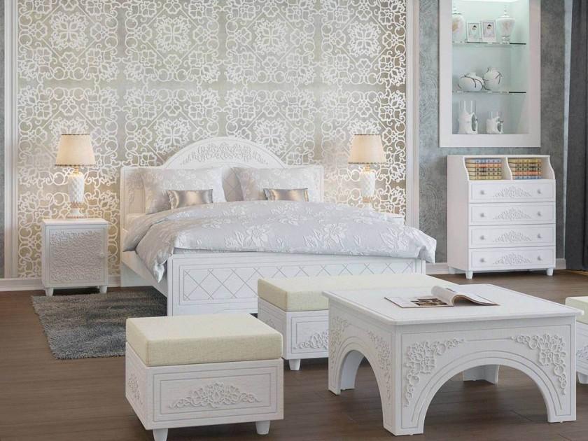 спальный гарнитур Спальня Соня Премиум Соня Премиум в цвете Патина Ясень