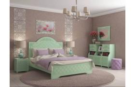 Спальный гарнитур Соня в цвете Мята Шагрень