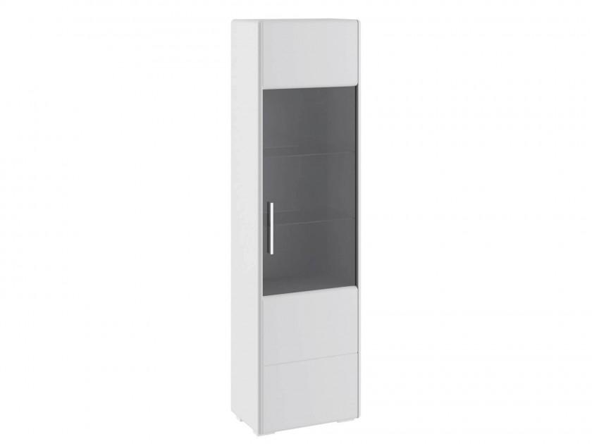 распашной шкаф Шкаф для посуды Наоми Наоми в цвете Белый глянец