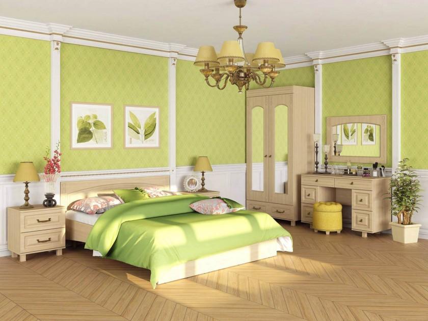 цена на спальный гарнитур Спальня Элизабет Элизабет в цвете Клен