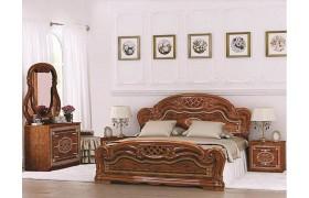 Спальный гарнитур Лара в цвете Орех