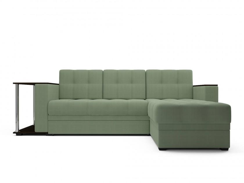 Зеленые угловые диваны