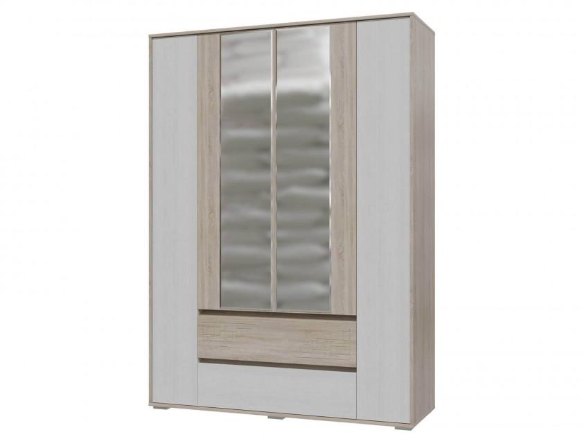распашной шкаф Шкаф 4-х дверный с ящиками Мальта Мальта