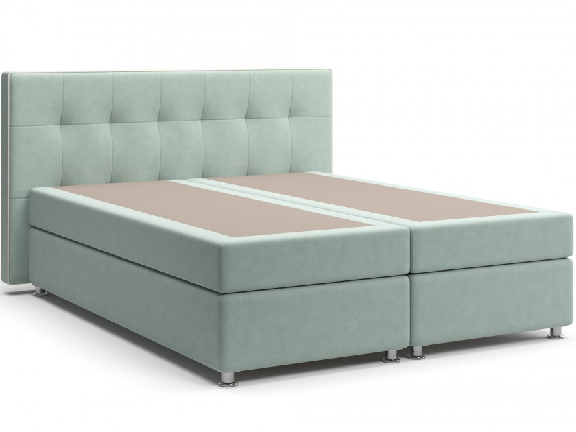 кровать Кровать с матрасом и зависимым пружинным блоком Нелли (160х200) Box Spring Нелли кровати box spring