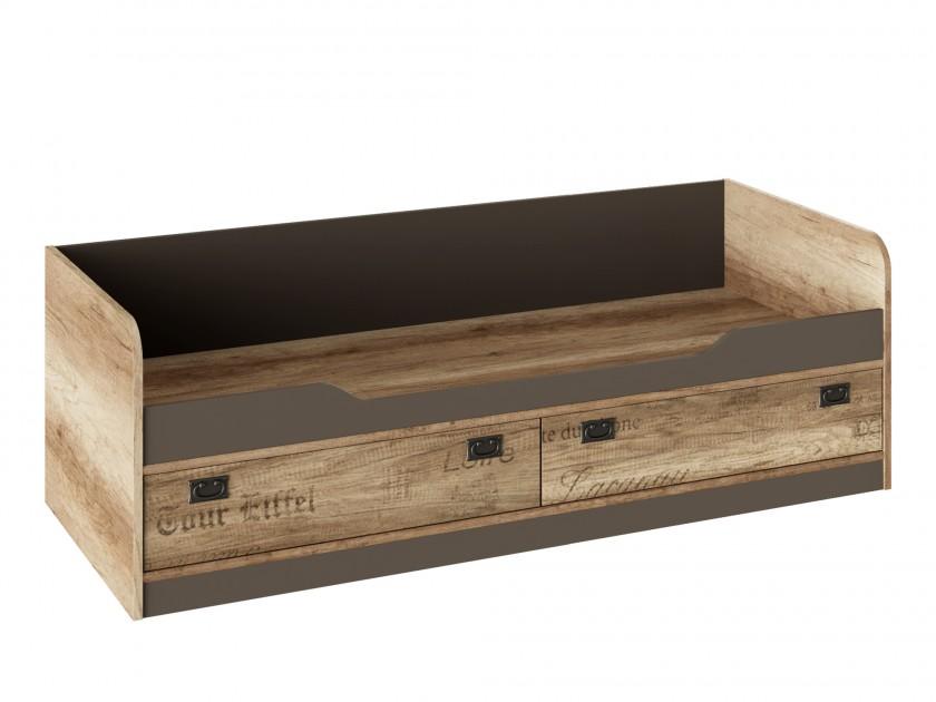кровать Кровать Пилигрим (80х200) Пилигрим кровать 2х ярусная пилигрим дуб каньон светлый фон серый без лестницы 80х200 см