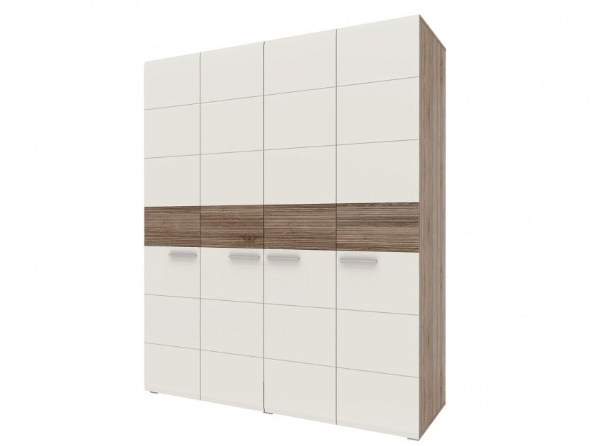 распашной шкаф Шкаф 4-х дверный Филадельфия Филадельфия шкаф распашной нк мебель прага шкаф 4 х дверный 72030103