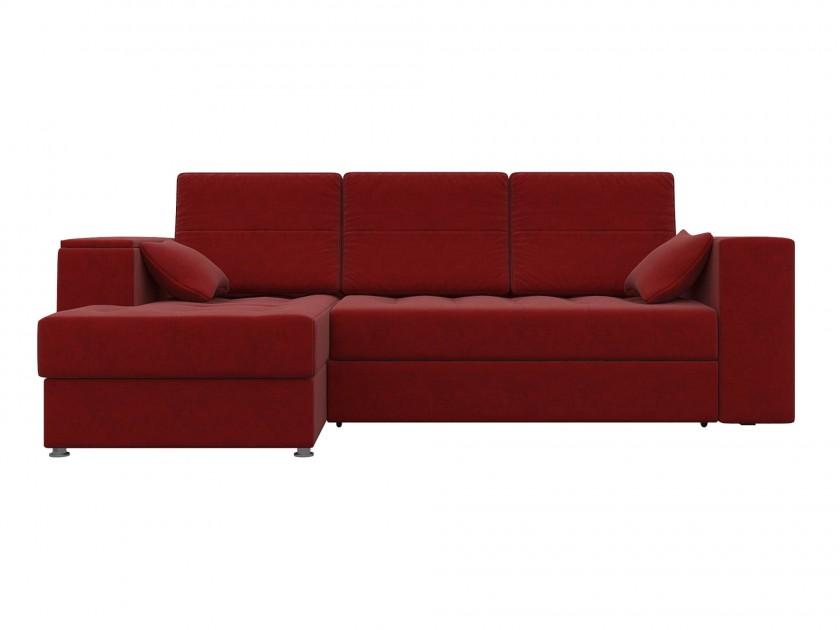 Красные угловые диваны