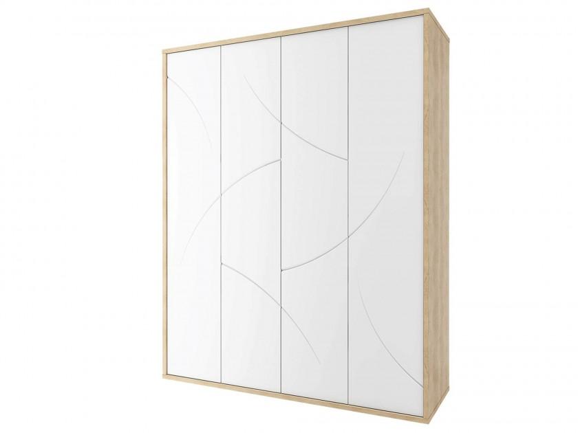 распашной шкаф Шкаф 4-х дверный Мадейра Мадейра шкаф распашной нк мебель прага шкаф 4 х дверный 72030103