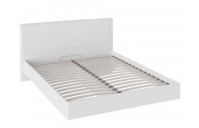 Кровать Наоми цвете Белый глянец
