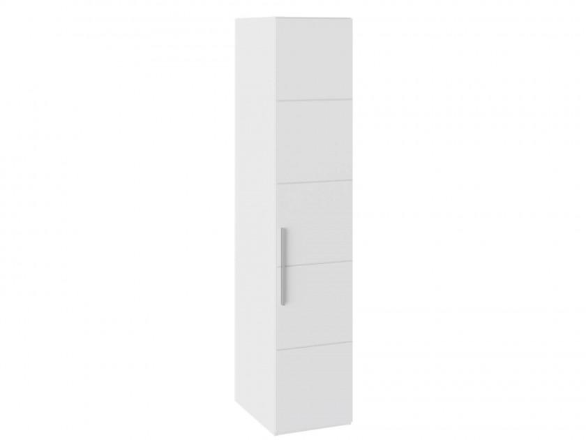 Фото - распашной шкаф Шкаф для белья с 1 дверью Наоми Наоми в цвете Белый глянец шкаф для белья с 1 зеркальной дверью прованс правый