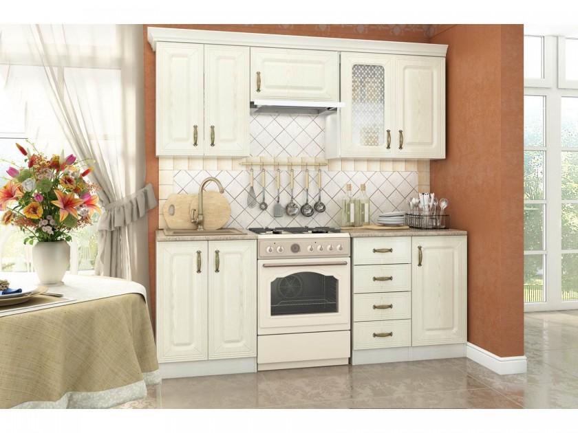 кухонный гарнитур Кухня Ника 2068 Ника Ясень