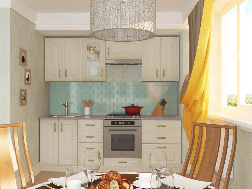 кухонный гарнитур Кухня Ника 2200 Ясень
