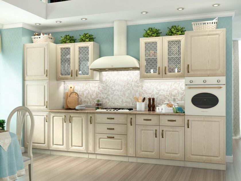 кухонный гарнитур Кухня Ника 3700 Ника Ясень