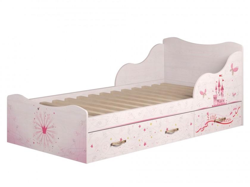 Кровать Принцесса (90х190) Принцесса