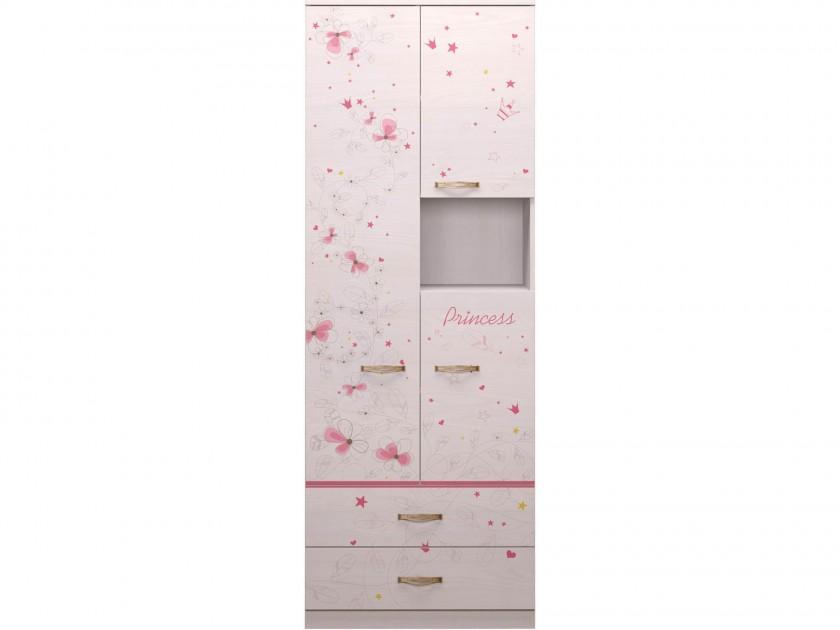 Шкаф комбинированный Принцесса Принцесса