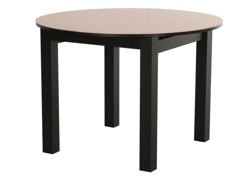 Обеденные столы венге стекло