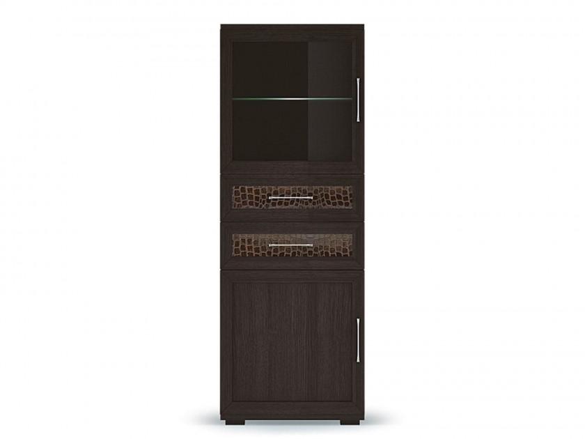 распашной шкаф Шкаф низкий со стеклом Парма Люкс Парма Люкс