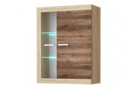 Шкаф для кухни Соната в цете Дуб сокраменто темный