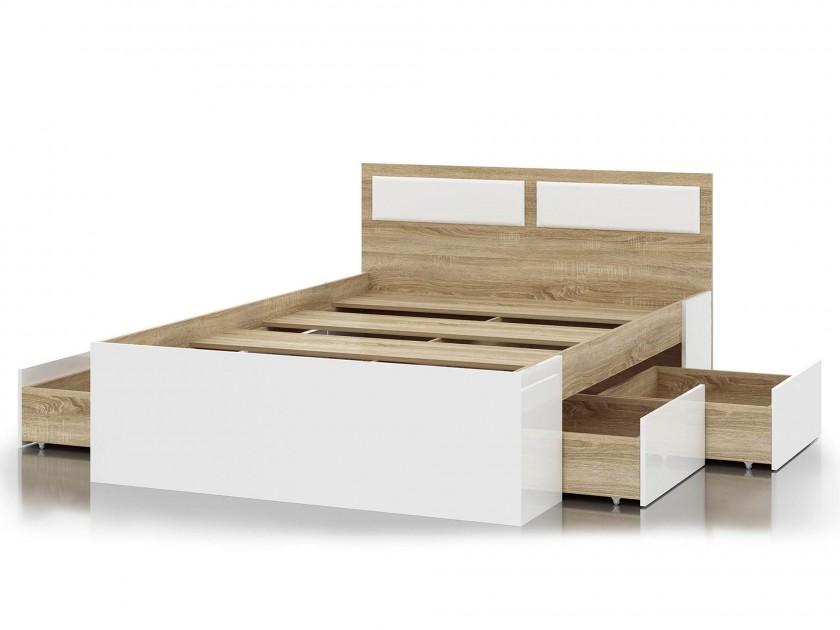 кровать Кровать с ящиками Беатрис (140х200) Беатрис свк кровать с ящиками камелия 1400 белый 140х200