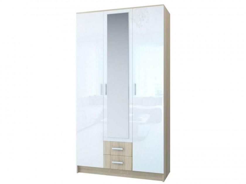 распашной шкаф Шкаф 3-х створчатый Беатрис Беатрис