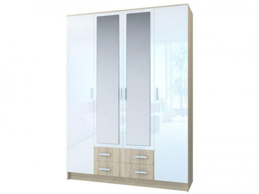 цена на распашной шкаф Шкаф 4-х створчатый Беатрис Беатрис