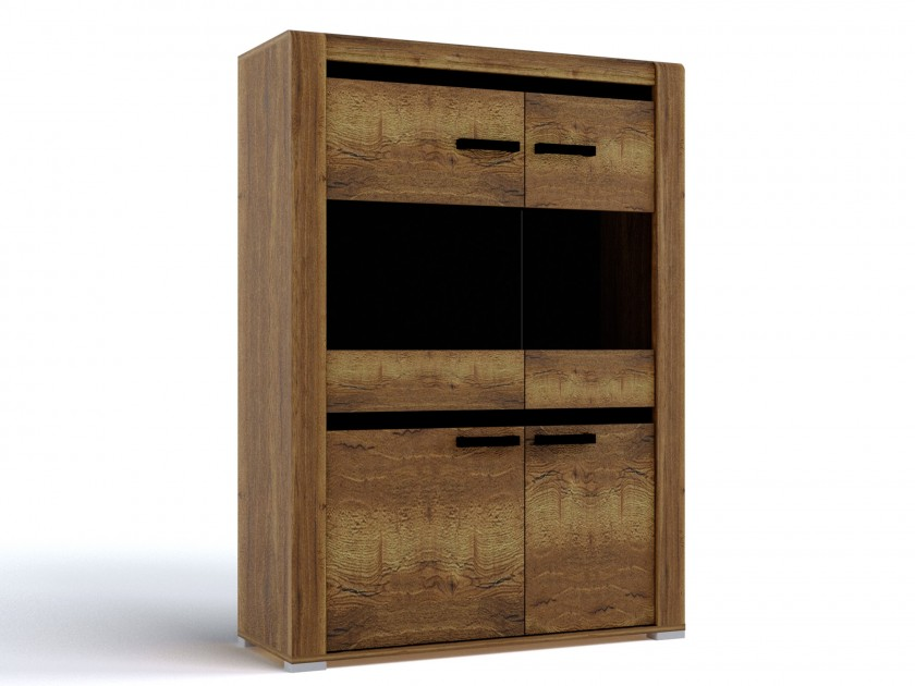 распашной шкаф Шкаф низкий Бруна Шкаф низкий Бруна
