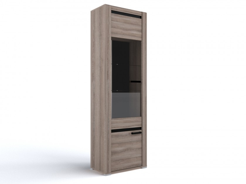 распашной шкаф Шкаф со стеклом Бруна Шкаф со стеклом Бруна