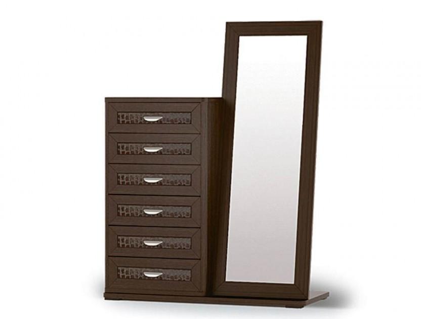 комод Комод высокий с зеркалом и основанием Парма Парма комод dupen с 100