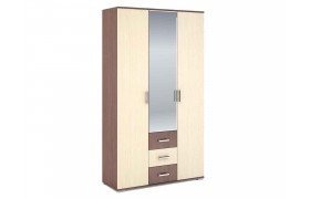 Распашной шкаф Шкаф 3-х створчатый Рошель