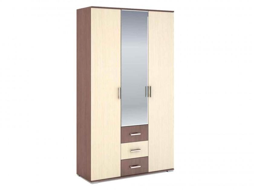 распашной шкаф Шкаф 3-х створчатый Рошель Шкаф 3-х створчатый Рошель