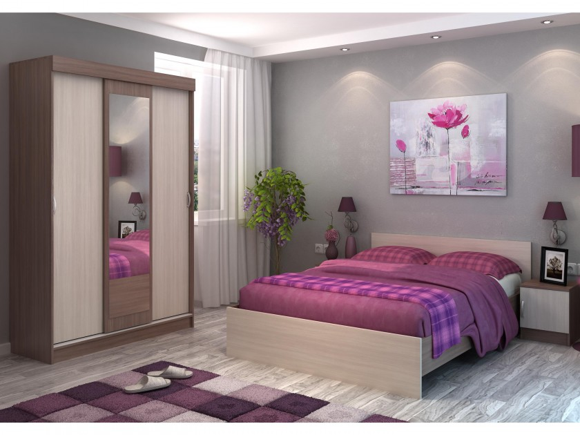 Фото - спальный гарнитур Спальня Бася Спальня Бася спальный гарнитур спальня соренто спальня соренто