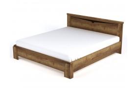Кровать Гарда цвете Дуб Галифакс табак