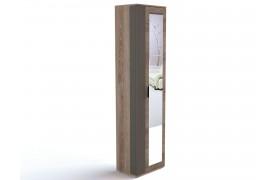 Распашной шкаф Шкаф для одежды с зеркалом Ханна