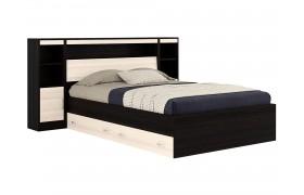 Кровать Кровать с блоком, ящиками и тумбами Виктория (140х200)