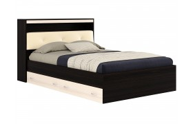 Кровать Кровать с блоком и ящиками Виктория ЭКО-П (140х200)