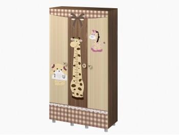 Распашной шкаф Шкаф трехстворчатый Лиса