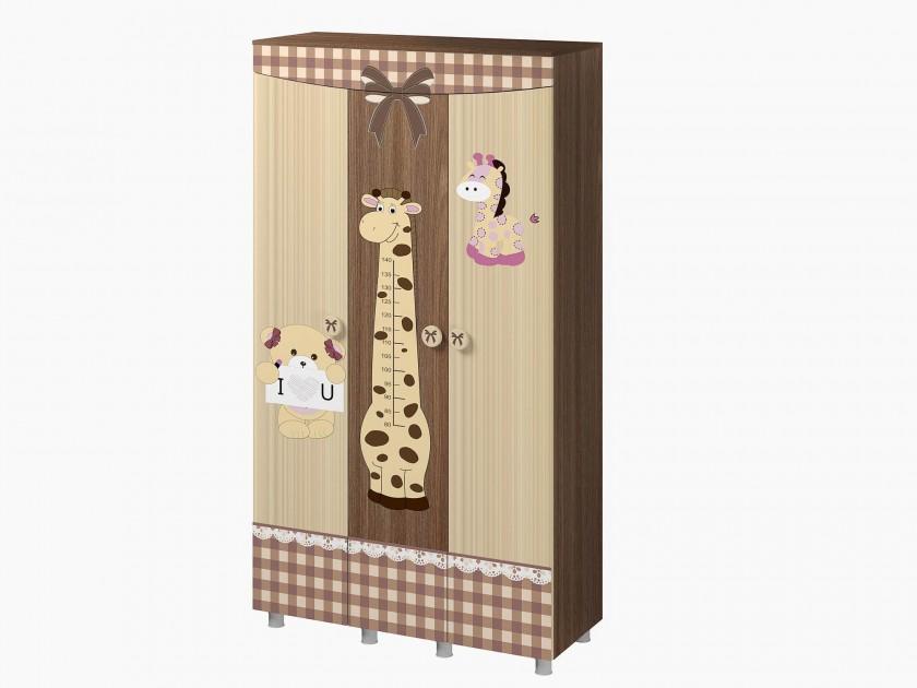 распашной шкаф Шкаф трехстворчатый Лиса Лиса шкаф трехстворчатый geuther cottage белый 1178 s3